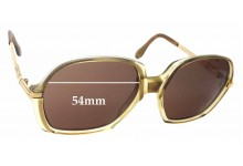 Cazal Mod 306 Replacement Sunglass Lenses - 54mm Wide