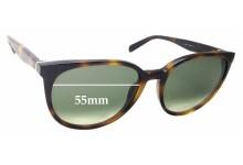 Celine CL 41068/S Replacement Sunglass Lenses - 55mm Wide
