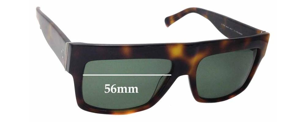 Celine CL 41756 Replacement Lenses - 56mm Wide   Sunglass Fix 314e8c1b29b3
