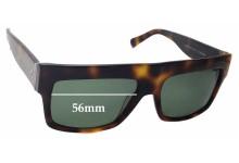 Celine CL 41756 Replacement Sunglass Lenses - 56mm Wide