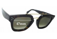 Sunglass Fix Replacement Lenses for Celine CL 41077/S - 47mm wide