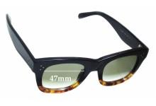 Celine CL 41089/S Replacement Sunglass Lenses - 47mm wide