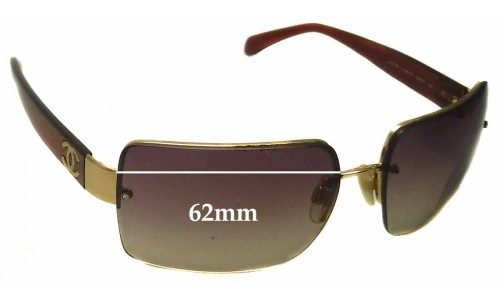 Chanel 4107-B Replacement Sunglass Lenses - 62mm wide