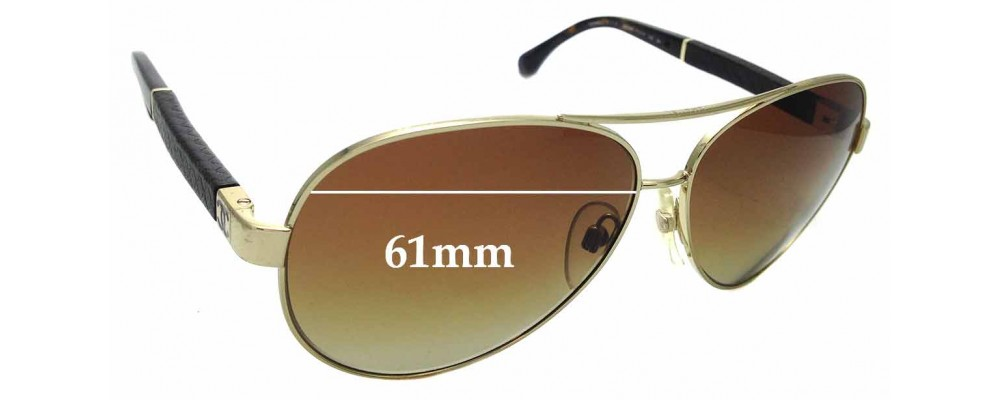 8e116a1bfe13 Chanel 4195-QReplacement Lenses 59mm Wide by The Sunglass Fix™