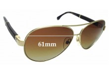 Sunglass Fix Replacement Lenses for Chanel 4195-Q - 61mm wide