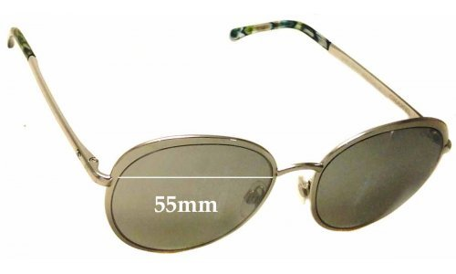 Chanel 4206 Replacement Sunglass Lenses - 55mm wide