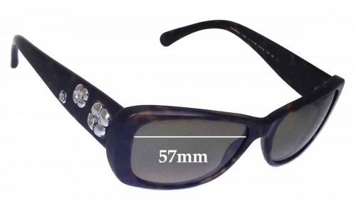 Chanel 5186 Replacement Sunglass Lenses - 57mm wide