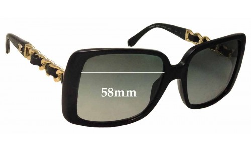 Sunglass Fix Replacement Lenses for Chanel 5208-Q - 58mm wide