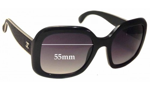 Chanel 5272Q Replacement Sunglass Lenses - 55mm wide