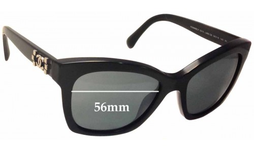 Chanel 5313 Replacement Sunglass Lenses - 56mm wide