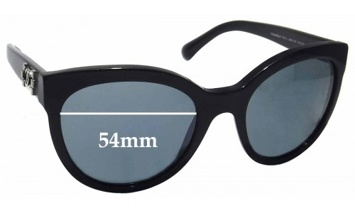 CHANEL 5315 Replacement Sunglass Lenses - 54mm wide