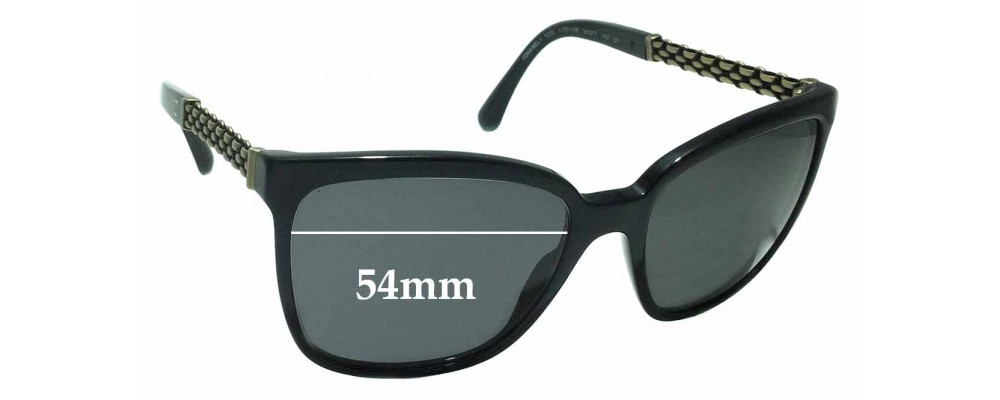 dbf80b4905b8 Chanel 5325 Replacement Sunglass Lenses - 54mm wide