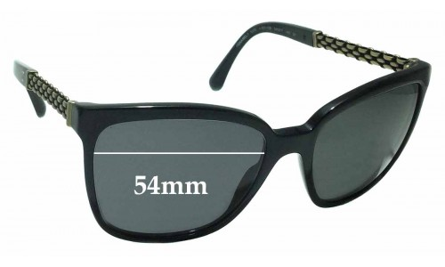 Chanel 5325 Replacement Sunglass Lenses - 54mm wide