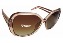 Sunglass Fix New Replacement Lenses for Chloe CE 650S - 59mm Wide