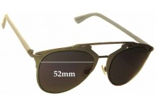 Christian Dior Reflected Replacement Sunglass Lenses - 52mm Wide