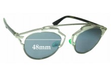 Christian Dior So Real Replacement Sunglass Lenses - 48mm Wide