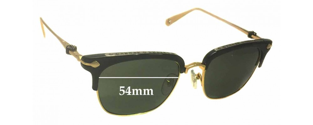 43ab589261e Chrome Hearts Sluntradiction Replacement Sunglass Lenses - 54mm wide