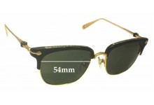 Chrome Hearts Sluntradiction Replacement Sunglass Lenses - 54mm wide