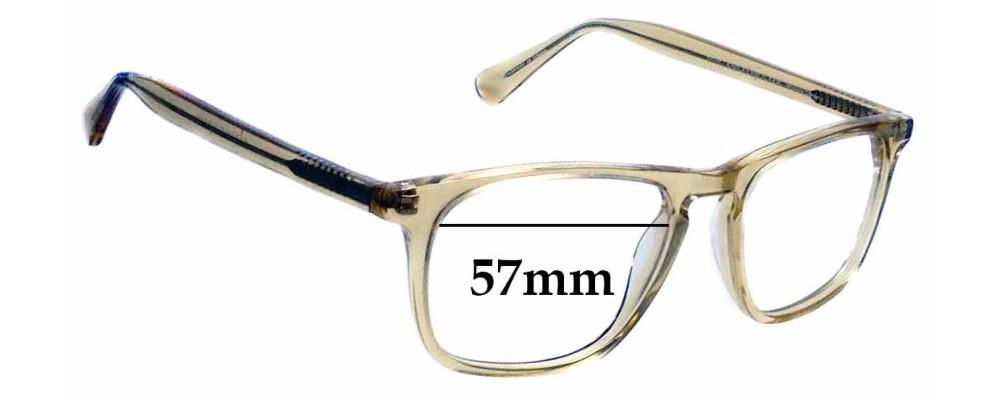 Sunglass Fix Replacement Lenses for Classic Specs Knickerbocker- 52mm wide