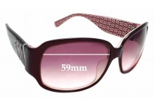 Sunglass Fix Replacement Lenses for Coach Blair S473A - 59mm wide