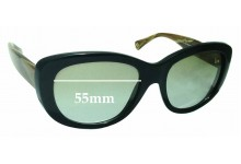 Coach Darcy HC8083 Replacement Sunglass Lenses 55mm wide