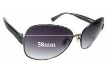 Sunglass Fix Replacement Lenses for Coach Gidget S598A - 58mm wide