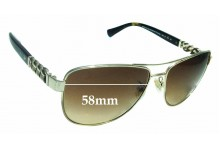 Sunglass Fix Replacement Lenses for Coach HC 7056Q - 59mm wide