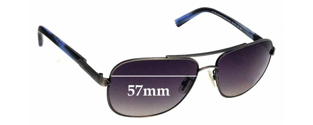 Sunglass Fix Replacement Lenses for Coach HC7065 - 57mm wide