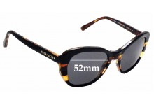 Sunglass Fix Replacement Lenses for Coach HC 8204 -52mm wide