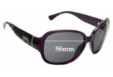 Sunglass Fix Replacement Lenses for Coach S3010 - 58mm wide