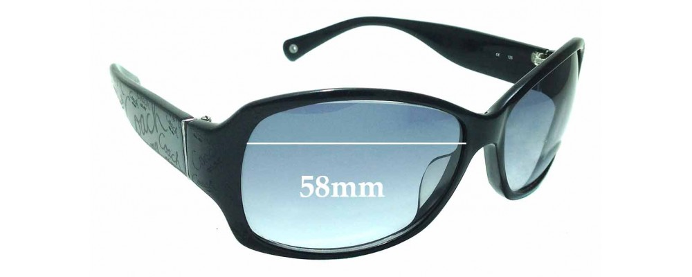 36368282a7 Sunglass Fix Replacement Lenses for Coach Taryn S801 - 58mm wide ...