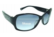 Sunglass Fix Replacement Lenses for Coach Taryn S801 - 58mm wide