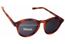 Cole Haan C6164 Replacement Sunglass Lenses - 50mm wide