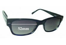 Sunglass Fix Replacement Lenses for Cole Haan CH1682 - 52mm wide