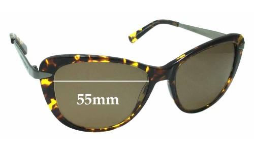 Collette Dinnigan Sun Rx 05 Replacement Sunglass Lenses - 55mm Wide