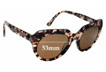 Sunglass Fix Replacement Lenses for Collette Dinnigan Sun Rx 22 - 53mm Wide