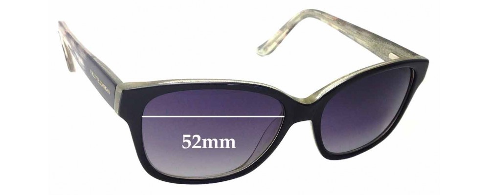 Collette Dinnigan 31 Replacement Sunglass Lenses - 52mm Wide