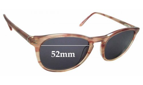 Sunglass Fix Replacement Lenses for Collette Dinnigan Sun Rx 15 - 52mm Wide