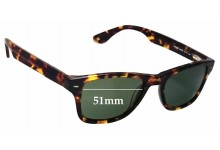 Columbia Bridger Replacement Sunglass Lenses - 51mm Wide