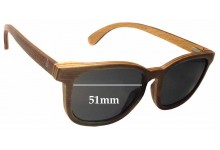 Coral Tree Fraser Replacement Sunglass Lenses - 51mm Wide x 42mm Tall