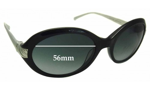 David Yurman DY 016 Replacement Sunglass Lenses - 56mm Wide