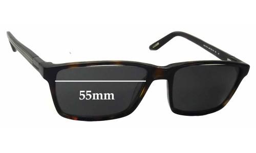 Davidoff MOD 91041 Replacement Sunglass Lenses - 55mm Wide