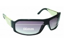 Diesel DS 0132 Replacement Sunglass Lenses - 66mm wide