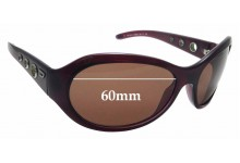 Sunglass Fix Replacement Lenses for Diesel  DS0010 - 60mm wide