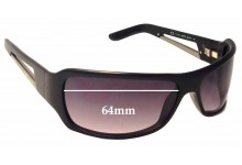 Diesel DS0014 Replacement Sunglass Lenses - 64mm Wide