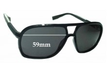 Sunglass Fix Replacement Lenses for Diesel DS0203 - 59mm wide