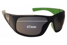 Dirty Dog Ultra Replacement Sunglass Lenses - 67mm Wide