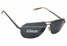 Sunglass Fix Replacement Lenses for Dita Flight 003 - 63mm wide