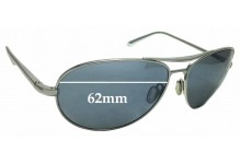 Sunglass Fix Replacement Lenses for Dita Flight .S - 62mm wide