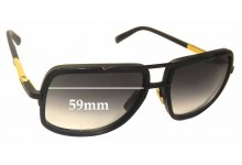 Dita Mach One Replacement Sunglass Lenses - 59mm wide